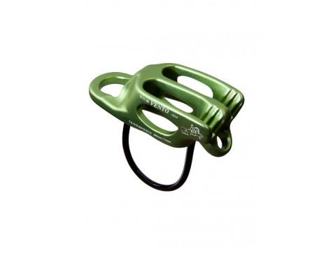 Страховочно-спусковое устройство «Лукошко V2», цвет зеленый (CE, UIAA) Vento
